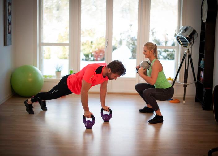 Kom i form med sirkeltrening