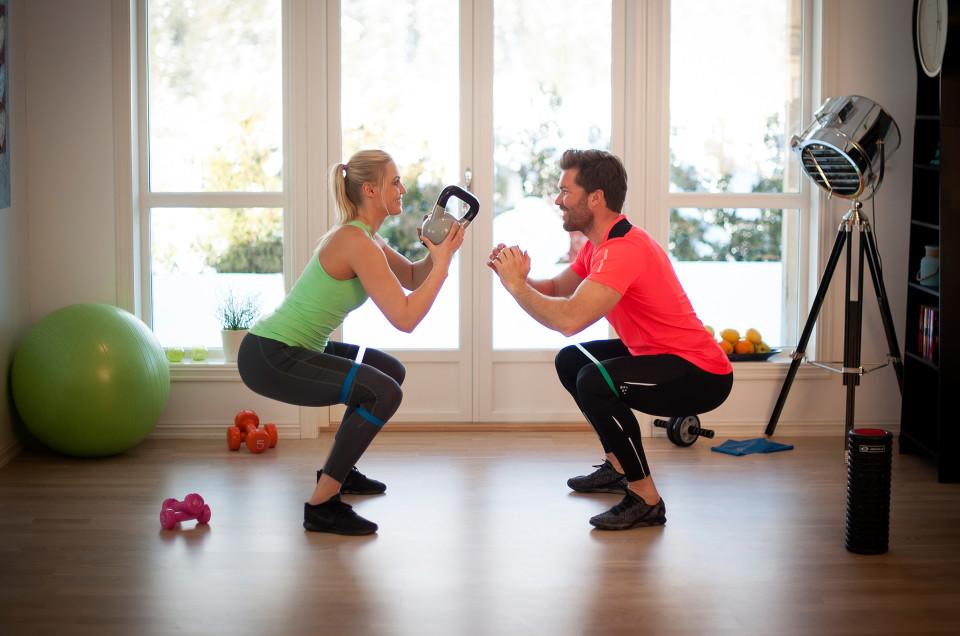 Fordeler med å trene hjemme