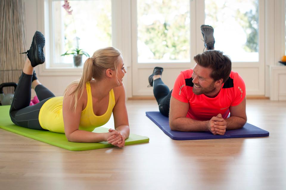 Har du tenkt på å trene hjemme?