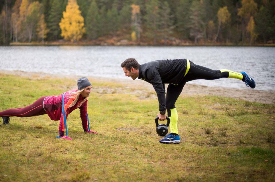 Trening med kettlebells er effektiv trening for hele kroppen