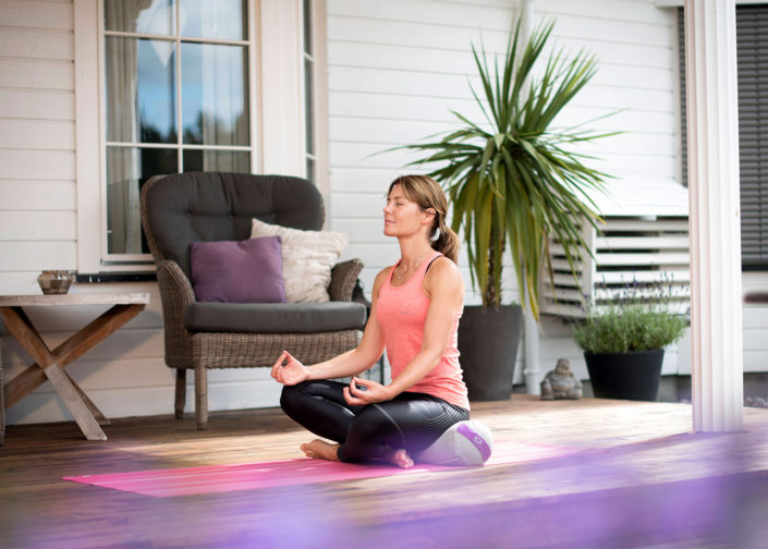 Stress ned med yoga